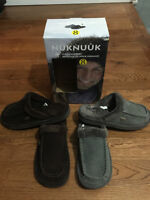 nuknuuk Leather & Polyester Slippers - LOT OF 20 Pairs or MORE -