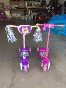 Huff scooters