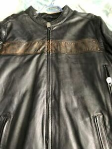 Brand new never worn 2xl Harley Davidson leather riding jacket