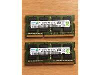 Laptop Memory 8GB (2 x 4GB)
