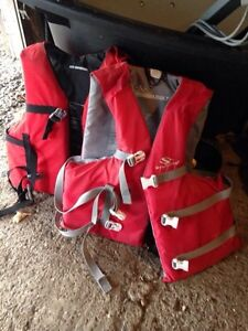 1 Summer old life jackets $50 for 2!