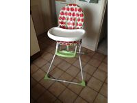 Mothercare High Chair good condition