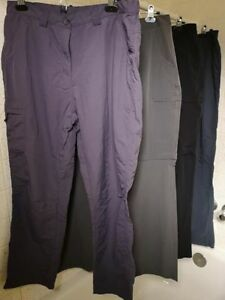 4 Pairs Ladies Size 10 Quick Dry Mountain Warehouse Hiking Pants