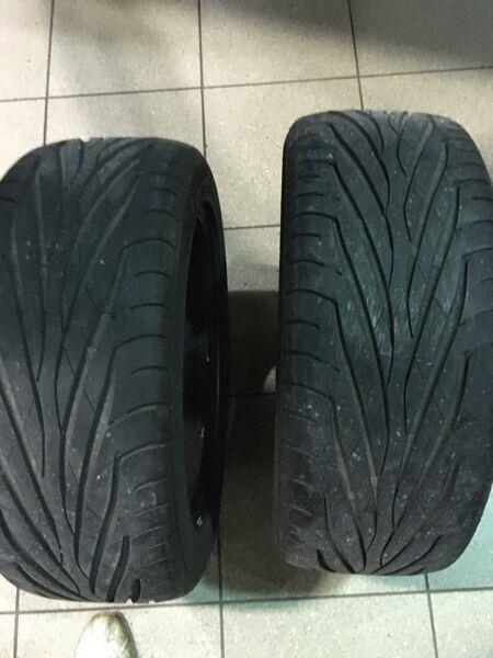 Maxxis victra maz1 235 50 18 xl tyres x2