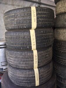 Tires different sizes.