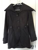 """""""Only"""" brand teen/ ladies lined wool jacket XS"""