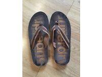 Superdry flip flops Mens medium