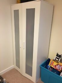 Kids IKEA wardrobe & large chest of drawers