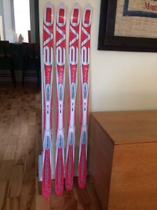 Never used Kids cross country skis waxless