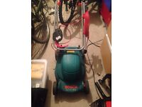 Bosch Rotak 320c electric lawn mower