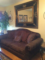 SOFA AND LOVESEAT BY ASHLEY