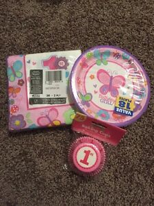 1st Birthday Girl Party Supplies