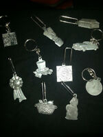 Novelty Pewter Key Chains