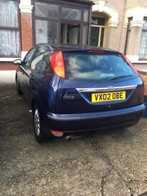 Cheap Ford focus for sale with low mileage