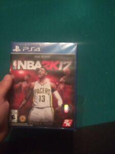 NBA2K17 brand new sealed ps4