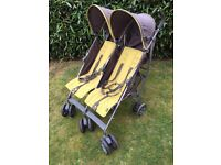 Mamas and Papas Double Buggy Twin Pushchair