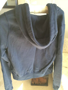 Abercrombie & Fitch Women's navy football hoodie. Super soft! Windsor Region Ontario image 2
