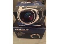 Olympus SP-550 UZ Digital Camera and Olympus Underwater Housing. £200