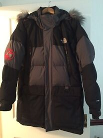 Men's north face parka coat