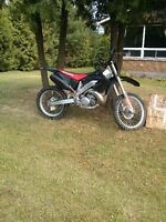 Cr 250 !!  trade for a 4 Wheeler