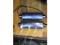 Viper exhaust cans