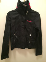 Bench BBQ Jacket - Size Medium, Black & Pink