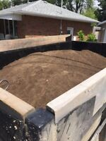 Screened topsoil, River Rock blow out sale