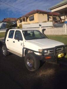 4wd diesel 2000 hilux dual cab Wallsend Newcastle Area Preview