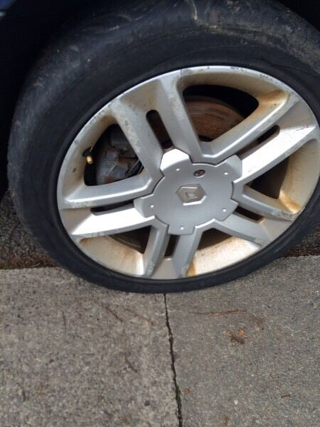 """Renault laguna 2003 breaking all parts available 1.9 dci 17"""" alloys"""