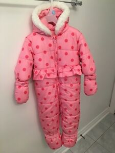 Baby Girls' One Piece Snow Suit