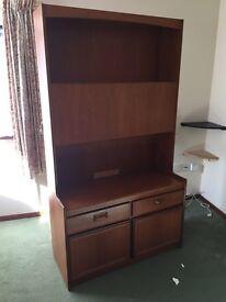 wooden bureau 1970s