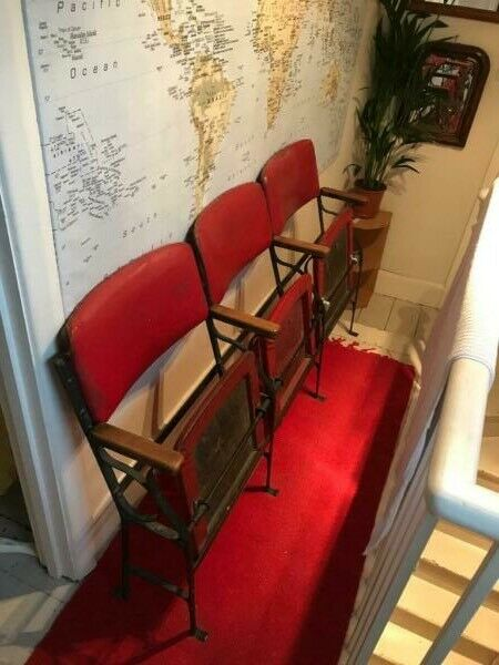 Early 20th century cinema seating  | in Queens Park, London | Gumtree
