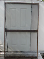 11 Aluminum frames with screen for Gazebo or screened in room