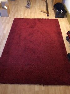 5x7 red rug