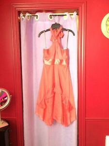Pink Prom dress from Le Chateau