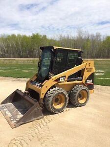 CAT skid steer Winnipeg Manitoba image 1