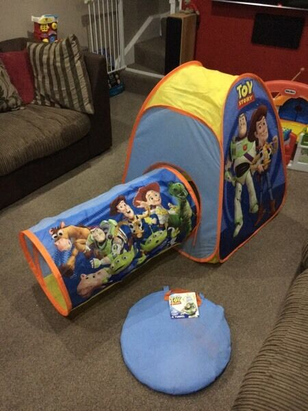 Toy Story pop up play tent u0026 tunnel set & Toy Story pop up play tent u0026 tunnel set | in Norwich Norfolk ...