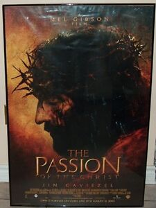 The Passion of The Christ Framed Movie Poster and DVD Set