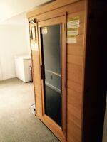 Infrared Sauna, moving must sell.