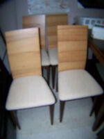 Dining Chairs $ 50.00 ea. Call 727-5344