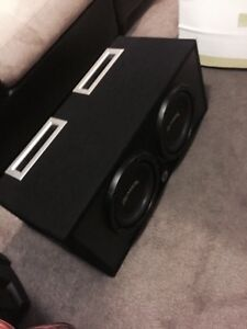^** COMPETITION PREMIER PIONEER SUBS IN PORTED BASSWORX BOX Kitchener / Waterloo Kitchener Area image 5