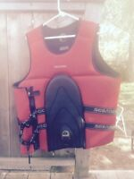2xl and size small sea Doo life jacket