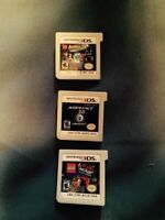 3 3ds games $20