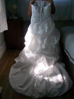 robe de mariée blanche grandeur 18