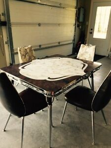 Vintage Retro Table and Chairs