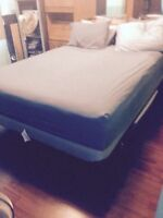 Looking to sell queen mattress and bedroom set
