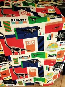 Jurassic park curtains
