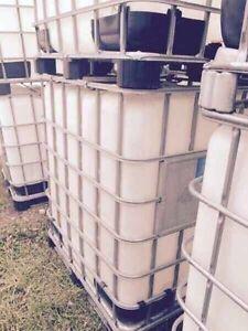 1200 liters water tanks
