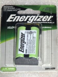 ENERGIZER 2.4V 1500MAH NIMH RECHARGEABLE CORDLESS PHONE BATTERY