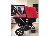 Unisex bugaboo Cameleon 3 red or pink covers to choose from
